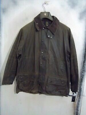 Barbour Beaufort Waxed Jacket Size C44 112Cm