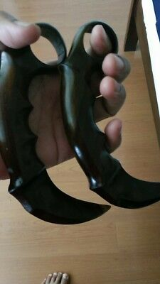 2 pc Traditional Karambit, for practice only