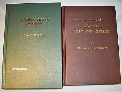 2-Violin Reference Books: Violin&Bow Makers Past & Present>  Known Violin Makers