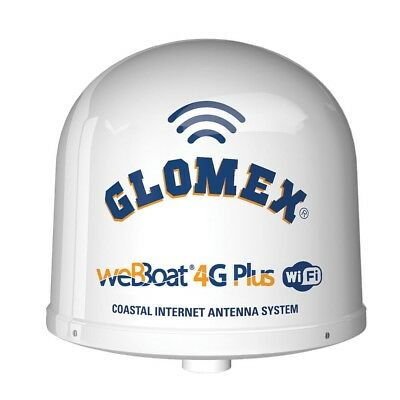 NEW Glomex Marine Antennas Glomex Webboat® 4g Plus 3g/4g/wi-fi Coastal Inter