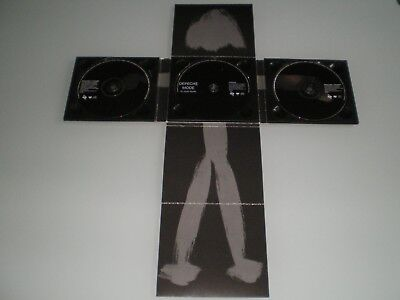 Coffret Box Set Trifold Digipack X3 Cd Depeche Mode In Your Room Rare Collector