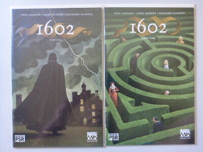 Marvel Comics 1602 issues 1-8 by Neil Gaiman and Andy Kubert