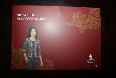 Singapore Airlines Sales Brochure Die Welt Der Singapore Airlines A 380 A 350
