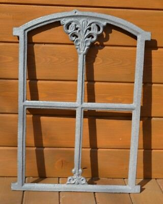 310 x 470mm Natural colour New Antique Cast Iron Window Frame BUY DIRECTLY KK105