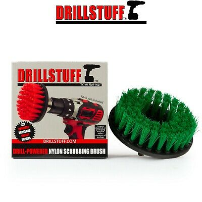 Drill Brush Kitchen Cleaning Supplies Large Scrub Brush Tile and Grout, Cooktop