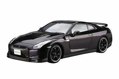 Aoshima 53171 The Model Car 35 Nissan R35 GT-R Spec-V '09 1/24 scale kit Japan