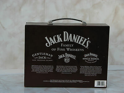 Jack Daniels wood box case display Family Fine Whiskeys mirror empty used rare