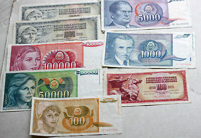 Lot Dinara, Bank of Yugoslavia,