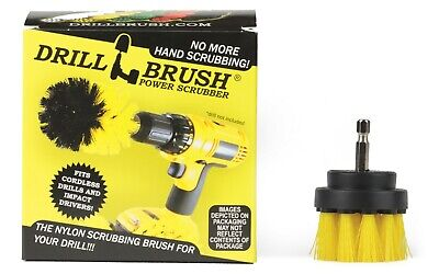 Power Drill Attachment Scrub and Cleaning Brush for Bathroom, Tile, and Grout