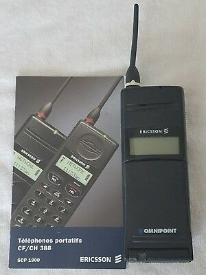 Ericsson CF 388 mobile cell phone - OMNIPOINT