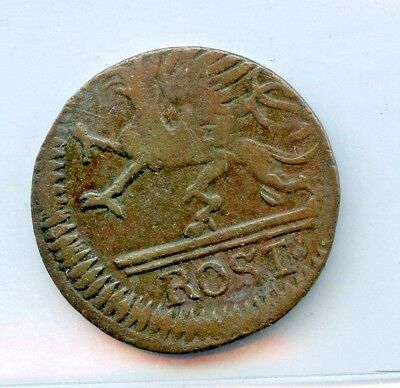 GERMAN- ROTHENBURG 1761 3 PF ~  BOUGHT IN 1965 !   *hucky*