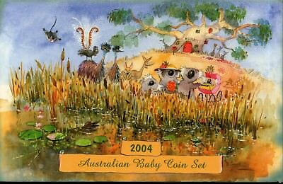 Australia Proof 2004 Baby Coin Set with Box and COA
