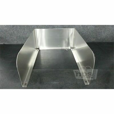 BK Resources BK-D-I1014-SS Removable 3-Sided Stainless Steel Sink Splash Guard*