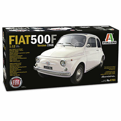 ITALERI Fiat 500F (1968) 4703 1:12 Car Model Kit