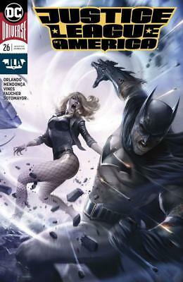Justice League Of America #26 B Francesco Mattina Variant Cover Batman