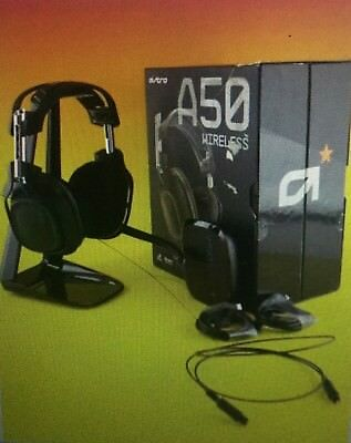 astro a50 ps4 gen 2.holder, mixamp, and various cords