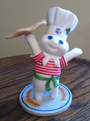 "NIB Danbury Mint Pillsbury Doughboy International Figurine ""Italy"""