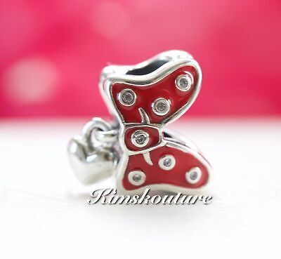 "Authentic Pandora Disney Park Exclusive ""Minnie Bow"" Charm 400020505118"