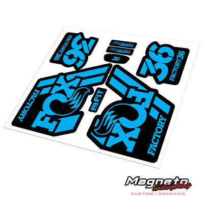 Fox 36 2018 - Reproduction Fork Decals