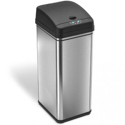 iTouchless Deodorizer Automatic Sensor Touchless Stainless Steel Trash Can...