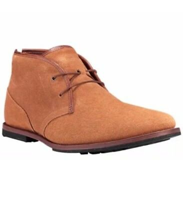 d10383f70c7 Timberland Boot Company Men's Wodehouse Chukka Shoes in Rust Brown Size 10