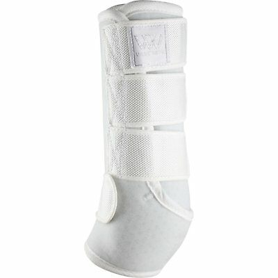 Woof Wear Dressage Unisex Horse Boot Exercise Wrap - White All Sizes