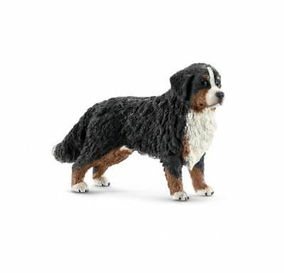 Schleich 16397 Bernese Mountain Dog Female Model Animal Figurine Toy NIP
