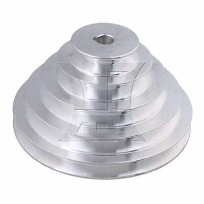 5.4-15cm OD 1.4cm Bore A Type Timing Belt 5Step Pagoda Pulley Belt