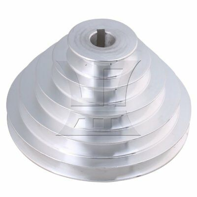 5.4-15cm OD 1.9cm Bore A Type Timing Belt 5Step Pagoda Pulley Belt