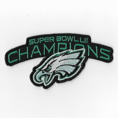 18866397652 Philadelphia Eagles Super Bowl LII Champions Iron on Patches Emblem Patch E  FN