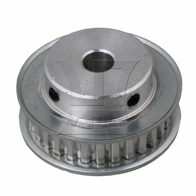 1.0cm XL30T Aluminum Timing Belt Pulley Silver