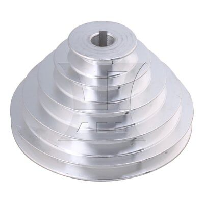 5.4-15cm OD 1.8cm Bore A Type Timing Belt 5Step Pagoda Pulley Belt
