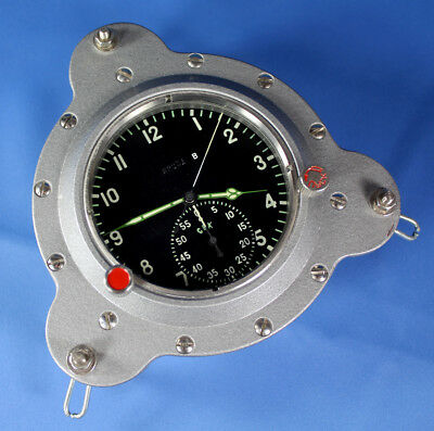 RARE BORDCHRONOGRAPH 61 TschP CCCP LUFTWAFFE Watercraft AIR FORCE BOARD CLOCK