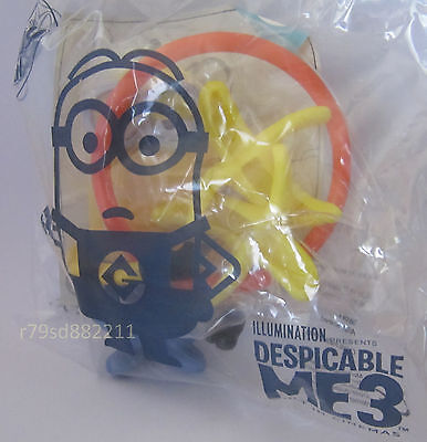 BANANA FLIPPER MINION SPIELZEUG  McDONALD's HAPPY MEAL AKTUELL NEU&OVP UK SERIE