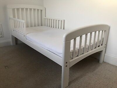 new products 97802 99cc5 JOHN LEWIS ANNA Junior and Toddler Bed, White (RRP £140)