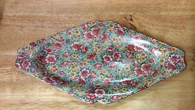 Vintage Lord Nelson Ware Chintz Plate/dish - Briar Rose