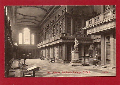 Cities and counties UK Oxford All Souls College The Library AK
