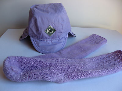 Ladies Mauve / Purple Pace Ski Cap Hat