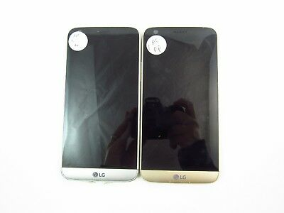 Lot of 2 Cracked LG G5 H820 AT&T Check IMEI CR