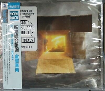 NEW GOO GOO DOLLS Boxes Taiwan CD w/OBI 2016 Over And Over-So Alive-FLOOD
