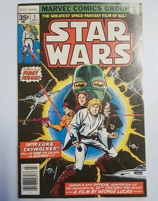 Star Wars #1 First Print, High Grade Vf+ Or Better. No Reserve!