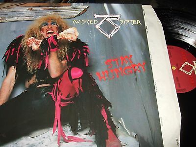 Twisted Sister : Stay Hungry Lp 1984 Atlantic Germany