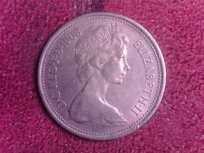 Great Britain   5   Pence   1968    We   Free Shipping