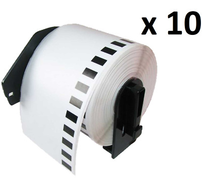 10 x Compatible DK11202 Thermal 62 x 100mm Address /Shipping Labels Fits Brother