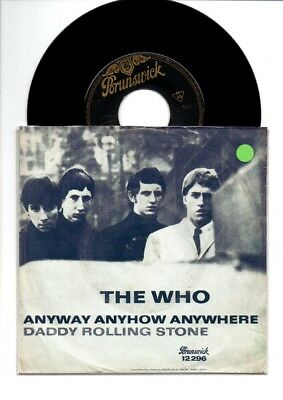The Who--Anyway Anyhow Anywhere-Brunswick-deutsche