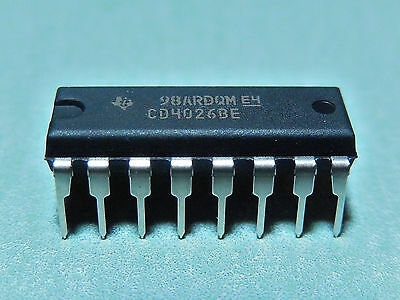 Other Integrated Circuits 4000 Series 4022 CD4022BE 4 Stage