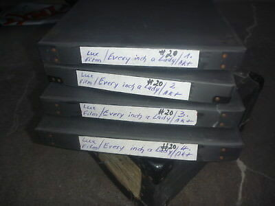35 mm Every inch a Lady 1975 mit Harry Reems, ex Beate Uhse Verleih alle 4 Akte.