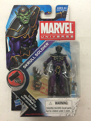 "Skrull Soldier 3.75"" Action Figure Series 2 #24 Hasbro Marvel Universe 2011"