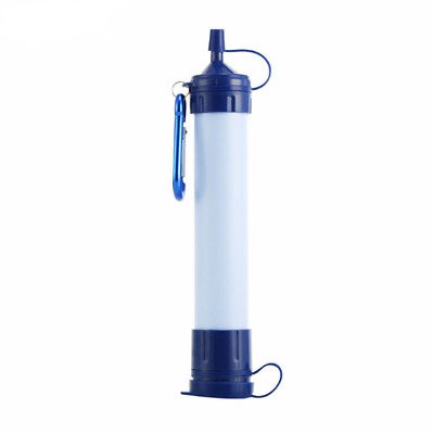 Portable Water Filter Purifier Cleaner Survival Outdoor Camping Hiking Dispenser