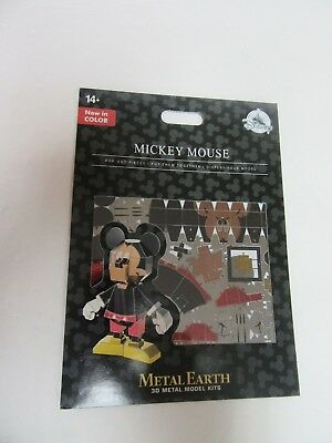 new Disney Parks Metal Earth 3D Model Kit New in Color Mickey Mouse